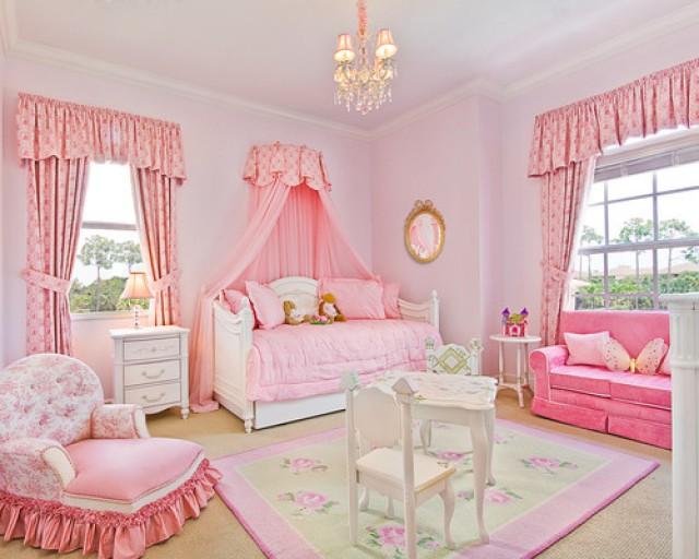 Habitaciones de princesas con una decoración excéntrica (fotos ...
