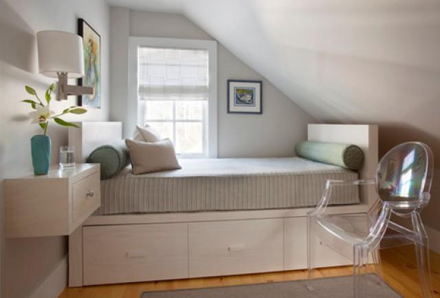 te presentamos una serie de fotos con ideas para decorar diferentes dormitorios pequeos con distintos estilos