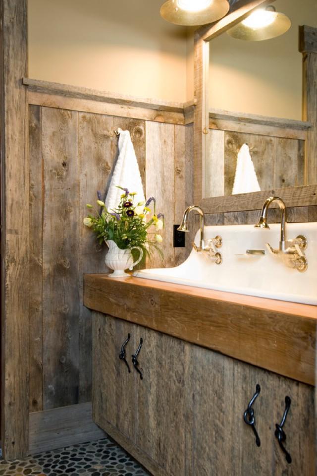 Ideas de decoración para baños rústicos pequeños (fotos) — idealista ...