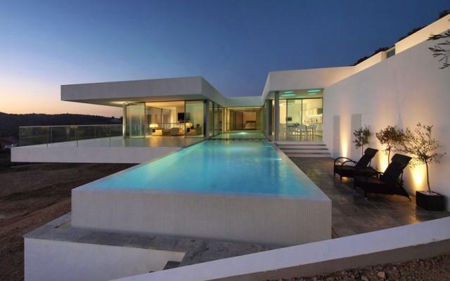 casas con piscinas exquisitas