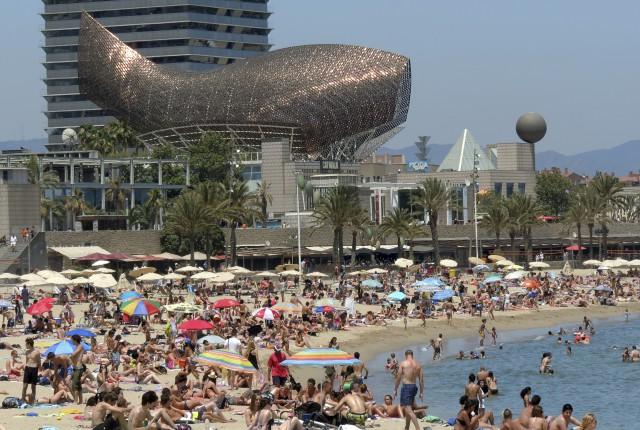 imagen de la ciudad de barcelona