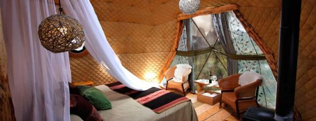 hotel ecocamp patagonia, situado en la patagonia chilena