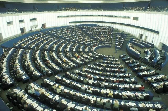 vista del pleno del parlamento europeo en estrasburgo