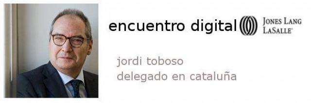 jordi toboso, el director de jones lang lasalle cataluña