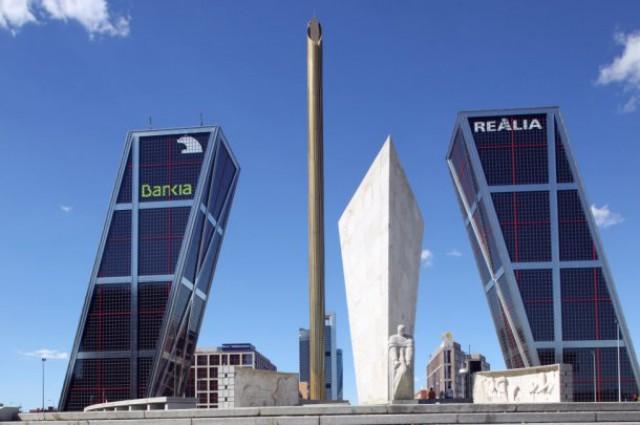 torres kio, sedes de realia y bankia en madrid
