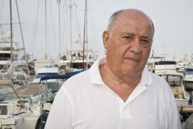 amancio ortega, tercer hombre más rico del planeta según forbes