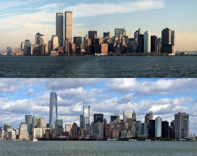13 aniversario del 11-S: así ha cambiado el 'skyline' de Nueva York desde los atentados terroristas (fotos) — idealista/news