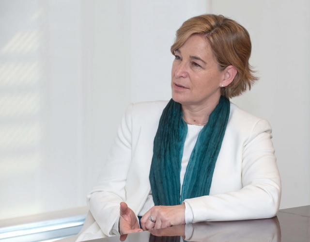 La presidenta de Sareb, Belén Romana