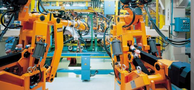 Planta de producción de vehículos