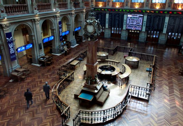 Imagen del Palacio de la Bolsa (Madrid)