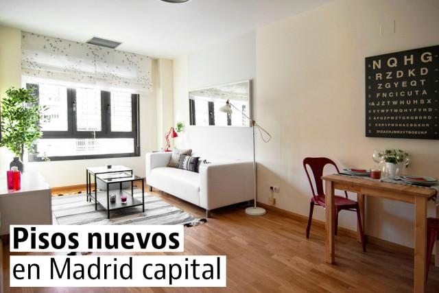 Los pisos nuevos más baratos de Madrid capital