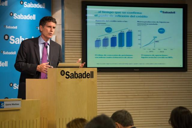 Jaume Guardiola, consejero delegado de Banco Sabadell