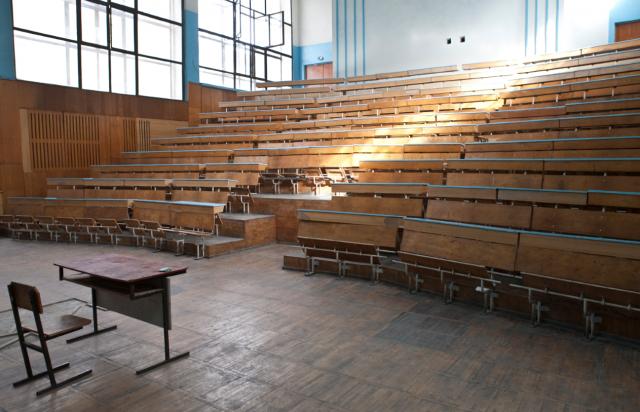 Aula de una Facultad