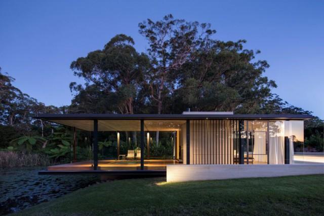casas de ensueo la mansin minimalista de madera y cristal que un arquitecto novato ha diseado para sus padres