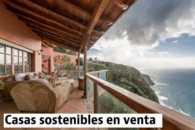 Chalet construido siguiendo pautas ecológicas en venta en Tacoronte, Tenerife