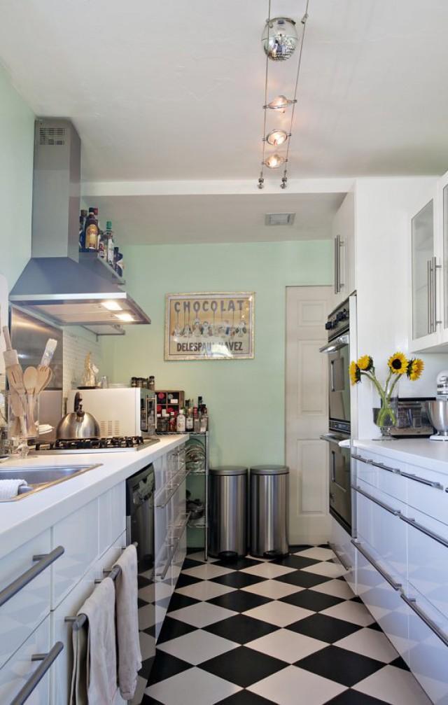 Ideas de decoración: 6 trucos para hacer que una pequeña cocina ...