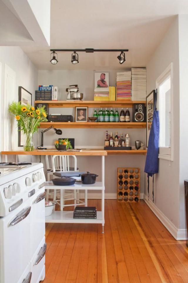 Ideas de decoracin para cocinas pequeas Ideas