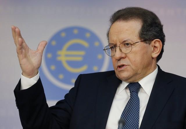 Vítor Constancio, vicepresidente del BCE