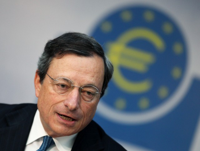 Mario Draghi, presidente del Banco Central Europeo