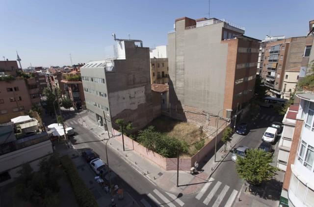 Suelo de la promoción en venta en Madrid
