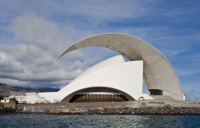 Auditorio de Calatrava en Santa Cruz de Tenerife
