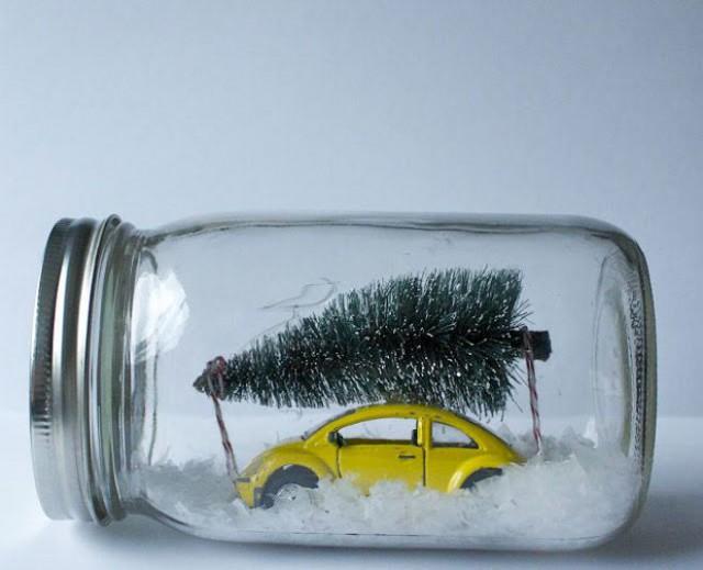 Idea original para decoración navideña