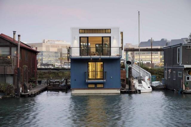 La casa flotante en San Francisco