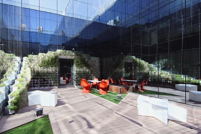 La sede de Microsoft en Pozuelo de Alarcón (Madrid)