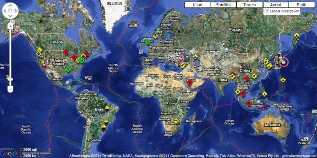 Mapa Del Tiempo En El Mundo.Nueve Sorprendentes Mapas Para Ver El Mundo En Tiempo Real