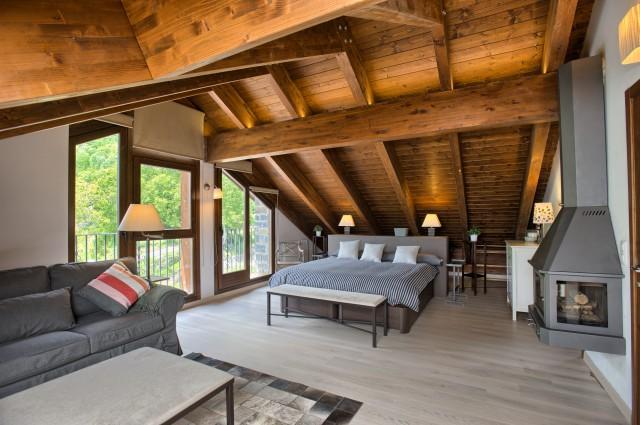 Apartamento dúplex en alquiler en Huesca
