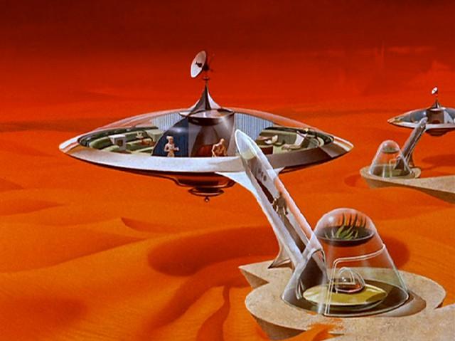 Casas del futuro en Marte