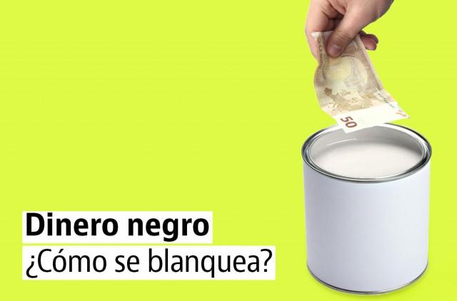 Cómo se blanquea el dinero negro