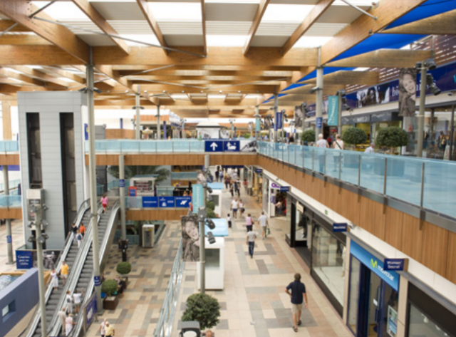 El centro comercial Habaneras de Torrevieja