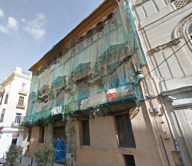 Edificio histórico en el centro de Valencia