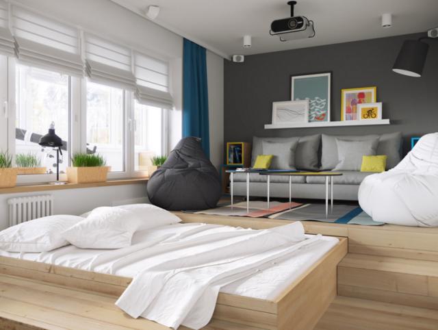Vives en un piso pequeño? Multiplica su potencial con una buena ...
