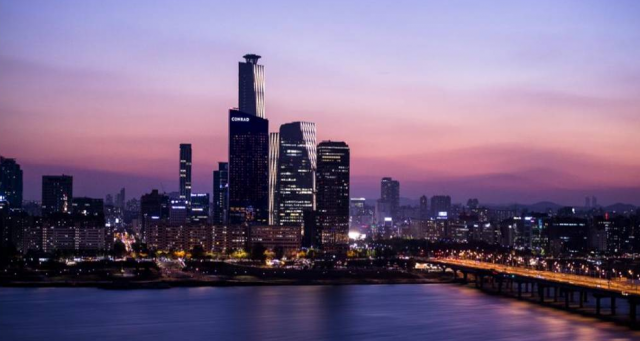 Rascacielos en Seúl