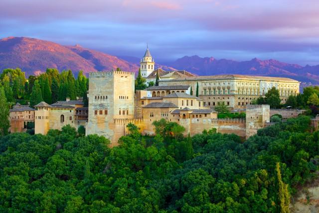 Vista de la Alhambra - Granada