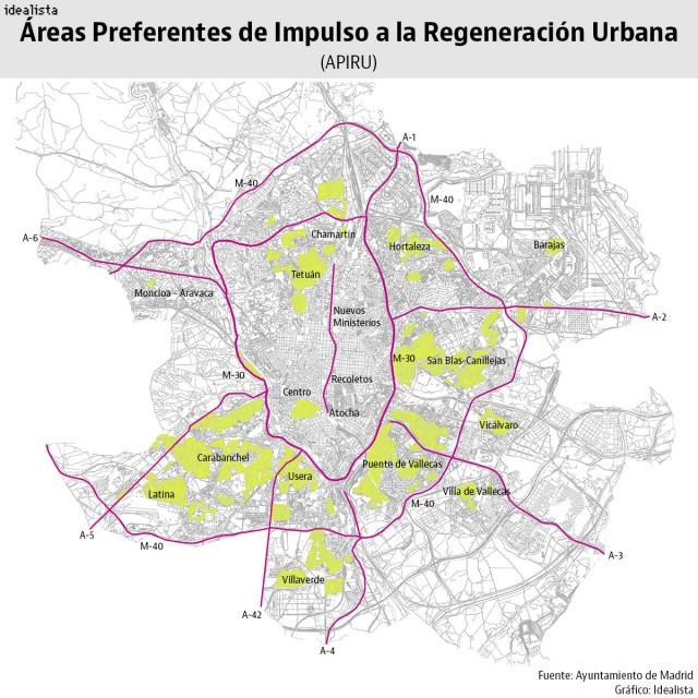 Áreas Preferentes de Impulso a la Regeneración Urbana (APIRU)