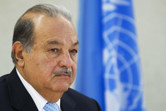 El emprendedor mexicano Carlos Slim