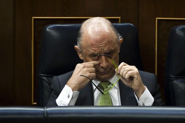 Cristóbal Montoro, ministro de Hacienda en funciones