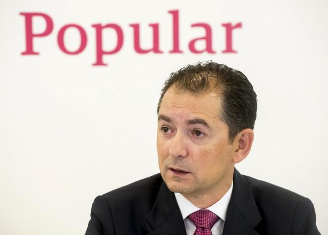 Francisco Gómez, consejero delegado de Popular