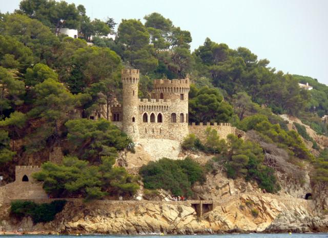 Castell d'En Plaja en Lloret de Mar