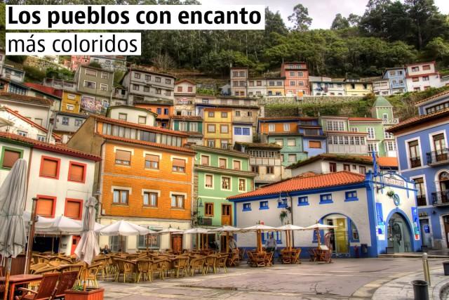 Los pueblos con encanto más coloridos