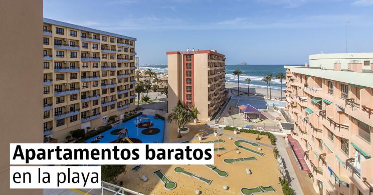 Apartamentos en primera línea de playa en venta