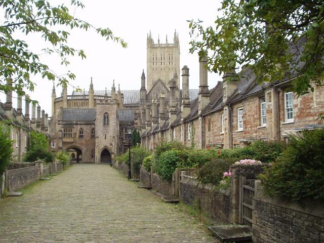 Vicars' Close, Wells, Somerset (UK)