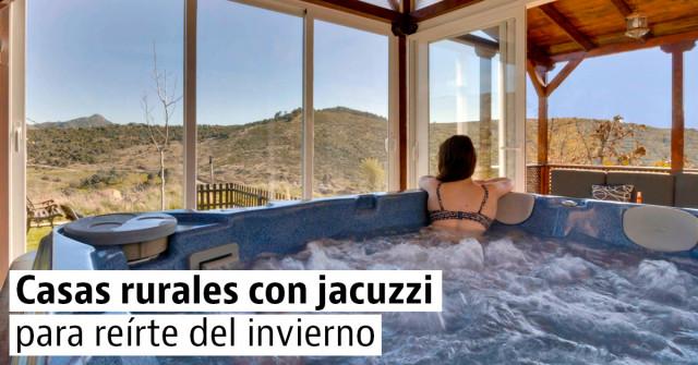 Jacuzzi Exterior Sevilla.Casas Rurales Con Jacuzzi Para Sobrevivir Al Frio Invernal