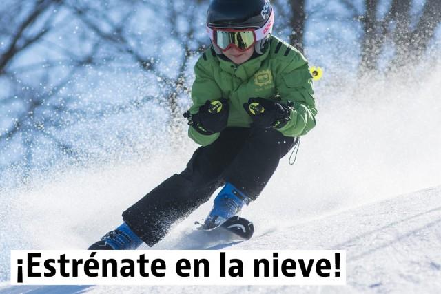 Estaciones de esquí para principiantes y niños