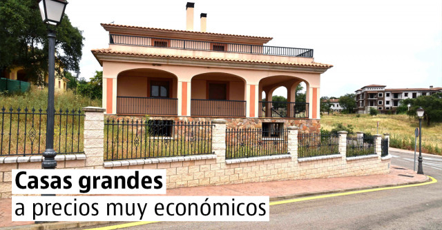 10 casas grandes a buen precio en España