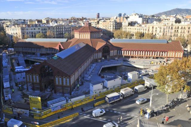 Estado actual del Mercat de Sant Antoni. Fuente: Ajuntament de Barcelona