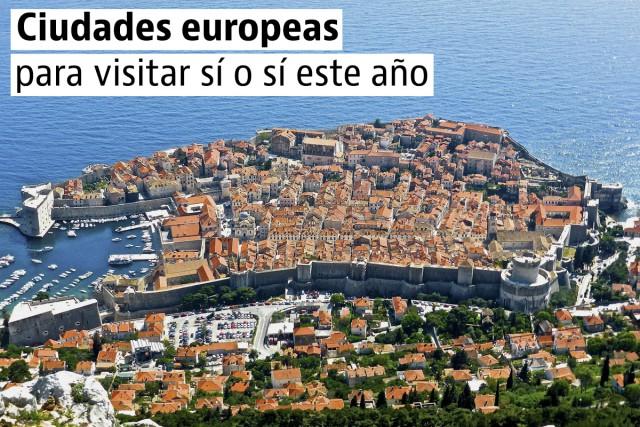 5 ciudades europeas que no te puedes perder en 2017